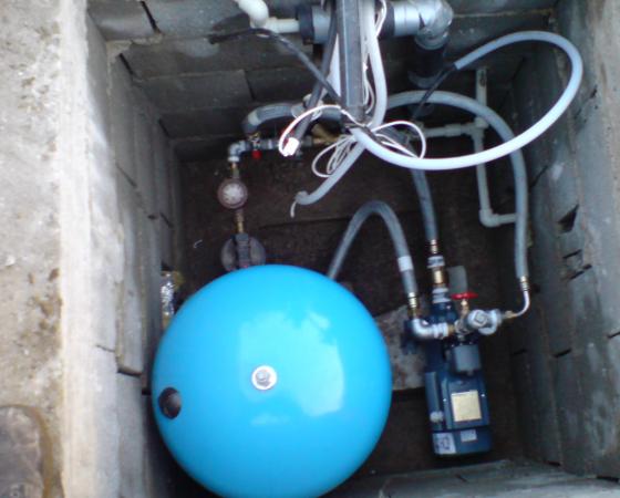 Изграждане и поддръжка на помпи и хидрофорни системи